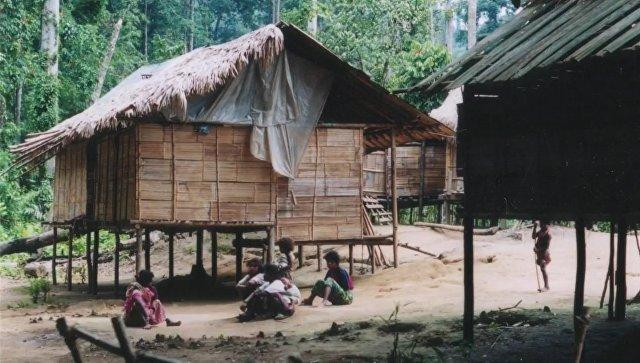 Деревня Сунгай Руал, чьи жители говорят на неизвестном науке языке