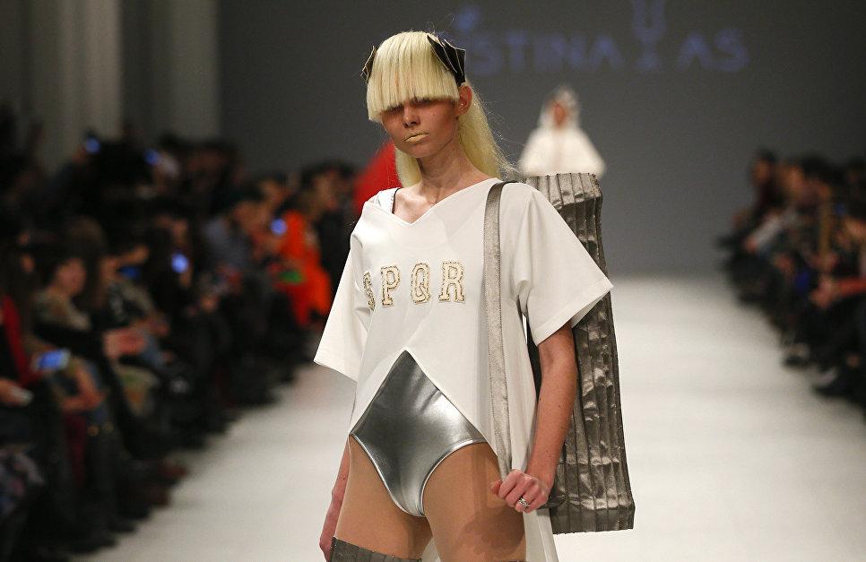 Показ коллекции Kristina_As на Неделе моды в Киеве