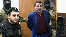 Временно исполняющий обязанности вице-премьера Республики Дагестан Шамиль Исаев в Басманном суде Москвы