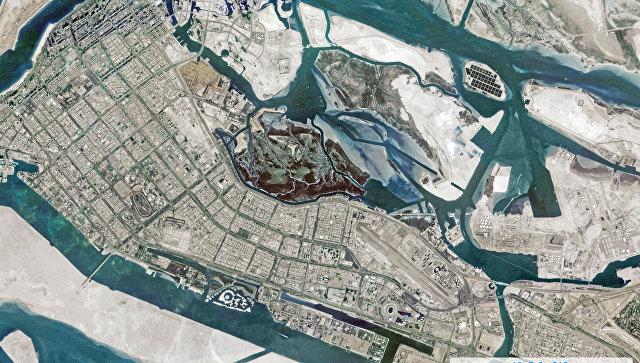 Первые снимки участков земной поверхности Абу-Даби с космического аппарата с №3. 9 февраля 2018