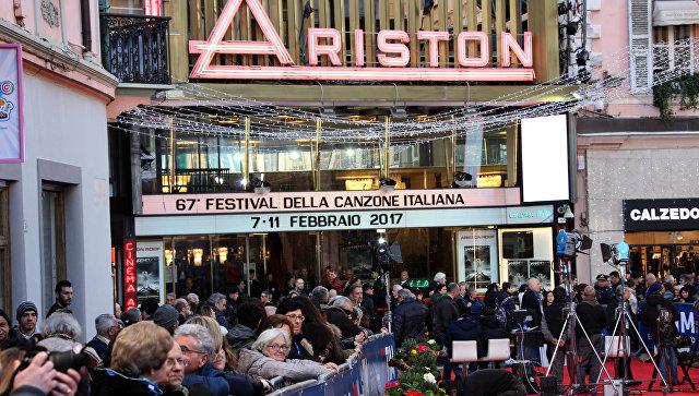 Открытие фестиваля итальянской песни в Сан-Ремо. 6 февраля 2018