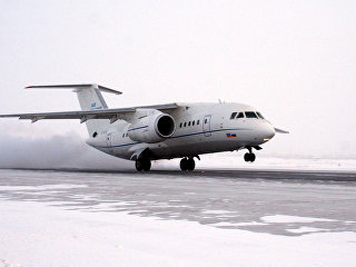 Пассажирский самолет АН-148. Архивное фото