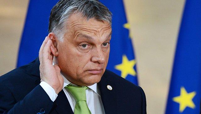 Премьер-министр Венгрии Виктор Орбан в Брюсселе. Архивное фото