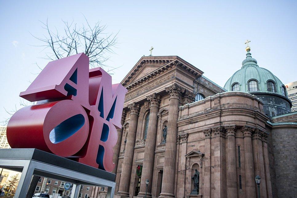 Монумент Amor в Филадельфии