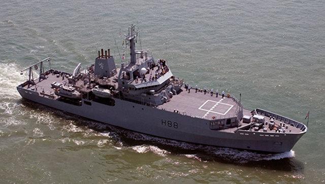 Британский корабль HMS Enterprise