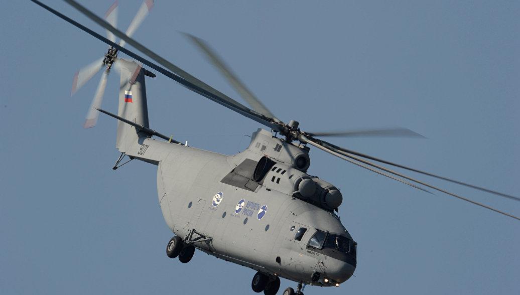 """""""Корова"""" на автопилоте. Что известно о новом тяжелом вертолете Ми-26Т2В"""