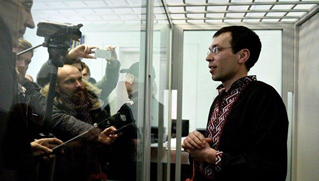 Суд над журналистом В. Муравицким в Житомире