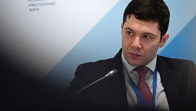 Антон Алиханов на Российском инвестиционном форуме в Сочи. Архивное фото