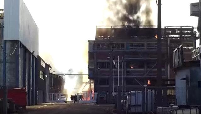 Взрыв на заводе агропромышленной компании Saipol в Дьепе, Франция. 17 февраля 2018