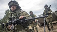 Военнослужащие в ходе командно-штабных учений. Архивное фото