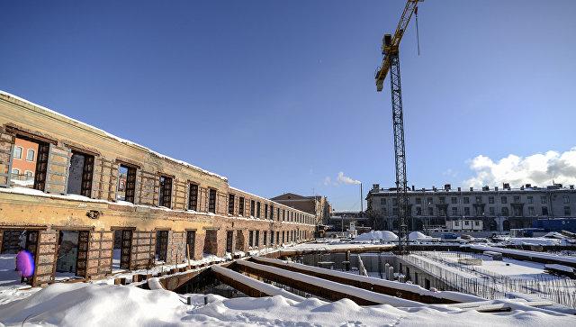 Минкультуры: новый проект возведения сцены МДТ вПетербурге почти спроектирован