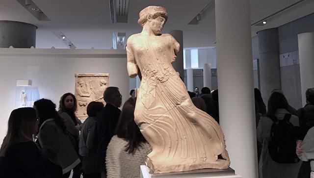 Экспонат выставки Элевсина. Великие мистерии в музее Акрополя