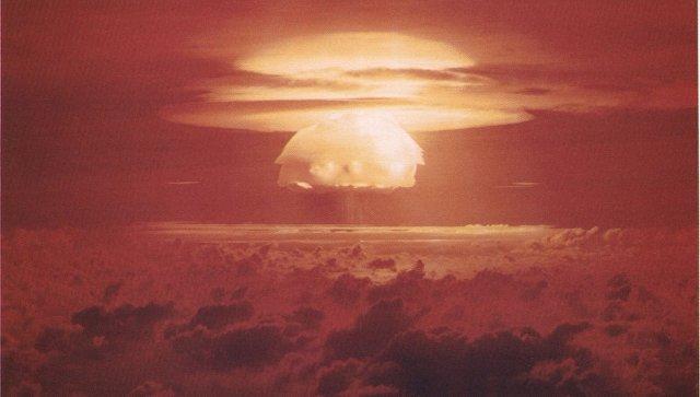 Последствия ядерного взрыва. Архивное фото