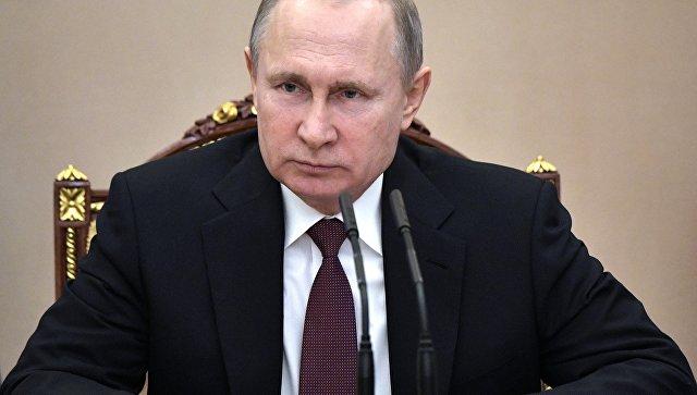 Путин прокомментировал инициативу о размещении миротворцев на Украине