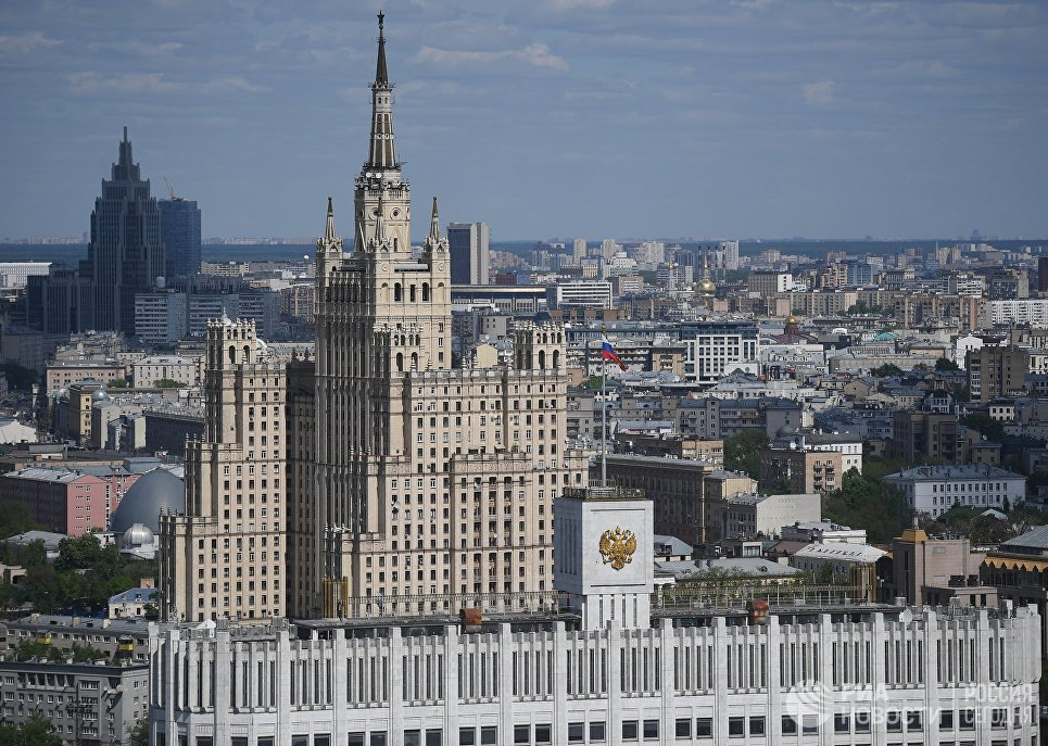 Жилой дом на Кудринской площади в Москве