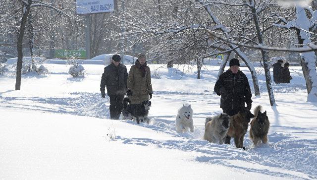 В российской столице уровень опасности снижен до«желтого»