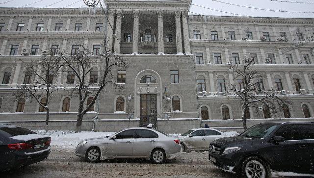Здание нефтегазовой компании Нафтогаз Украины в Киеве. Архивное фото