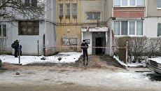 Дом в Симферополе, в котором из-за поломки лифта погибли женщина и маленький ребенок. 2 марта 2018