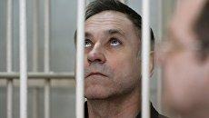Бывший милиционер Евгений Чуплинский Новосибирском областном суде. 6 марта 2018
