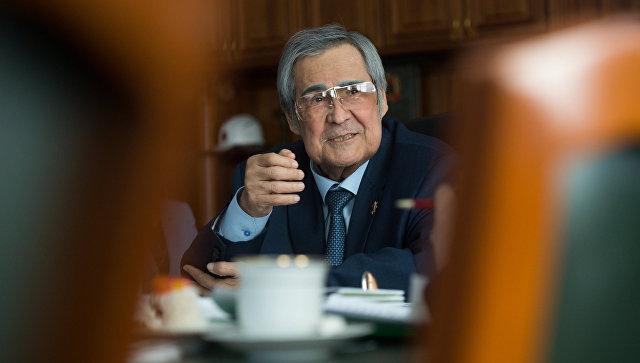 Губернатор Кемеровской области Аман Тулеев. Архивное фото