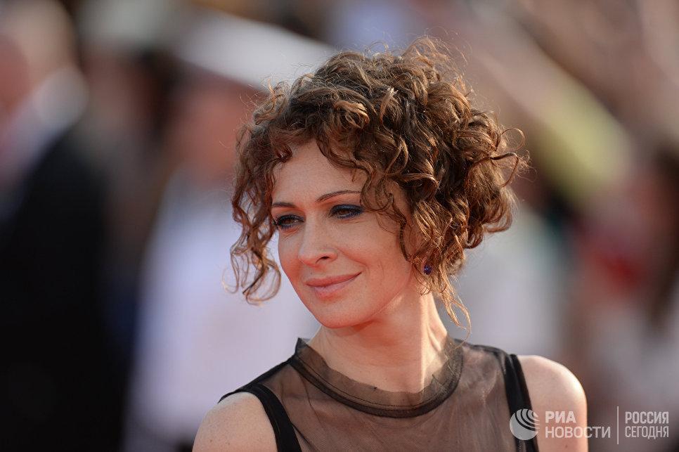 Актриса Ксения Раппопорт