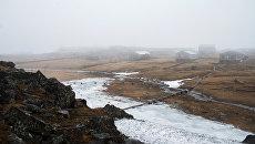 Арктический поселок Диксон на берегу Карского моря. Архивное фото
