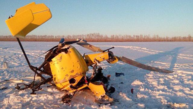 ВРоссии разбился самодельный самолет