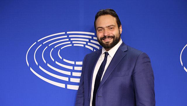 Заместитель председателя Европарламента Фабио Массимо Касталдо. Архивное фото