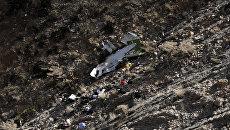 Место крушения турецкого частного самолета, который разбился в горах Загрос в Иране. 12 марта 2018