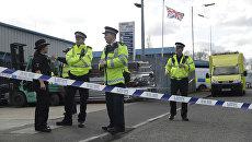 Сотрудники британской полиции в Солсбери, Великобритания. Архивное фото