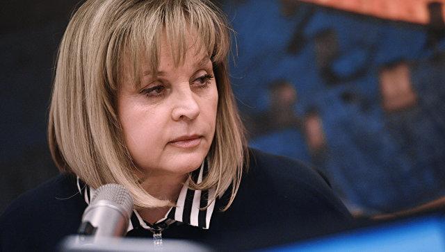 Глава Центральной избирательной комиссии Элла Памфилова во время интервью на радиостанции Эхо Москвы. 14 марта 2018
