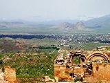 Руины дворца древнего Урарту в Турции