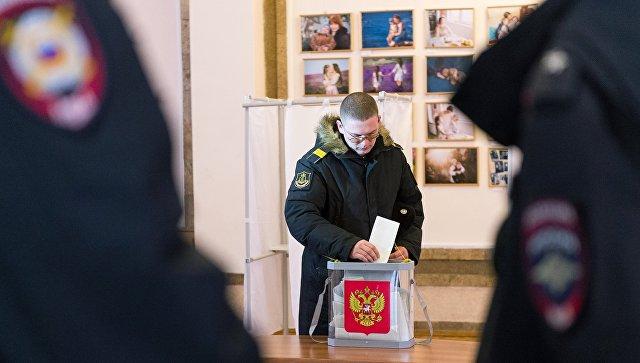 Голосование на выборах президента РФ в Крыму