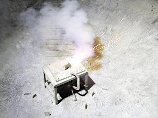 Дымовая шашка, блокирующая и видимый свет, и ИК-волны