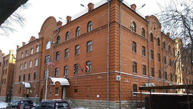 Здание в котором находится Консульство Британии в Екатеринбурге. 19 марта 2018