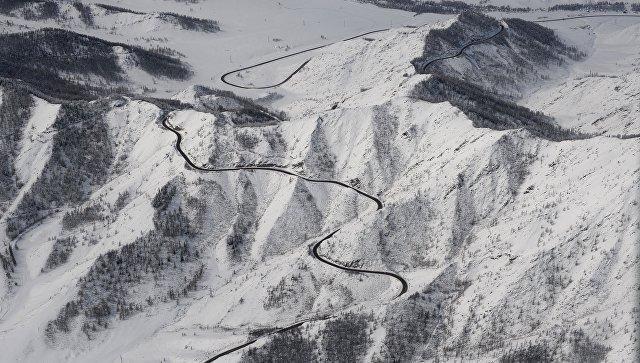 Алтайские горы. Архивное фото