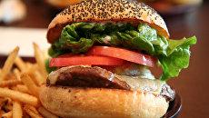 Гамбургер. Архивное фото