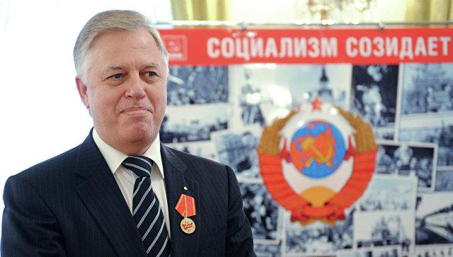 Глава Коммунистической Партии Петр Симоненко. Архивное фото