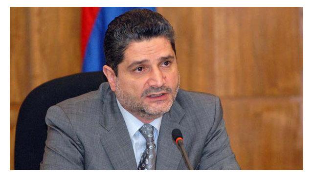 Премьер-министр республики Армения Тигран Саркисян. Архивное фото