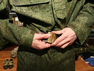 Форма военнослужащего. Архивное фото