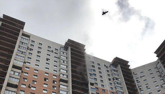 Появились новые детали пожара наКоломяжском проспекте