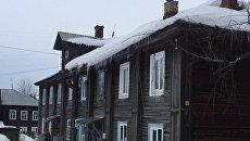 Пенсионерка погибла в результате падения наледи в Ивановской области. 31 марта 2018