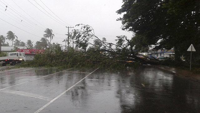 Последствия урагана на Фиджи. Архивное фото