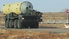 Испытательный пуск новой модернизированной ракеты российской системы ПРО. Архивное фото