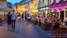 Загреб, Хорватия. Архивное фото