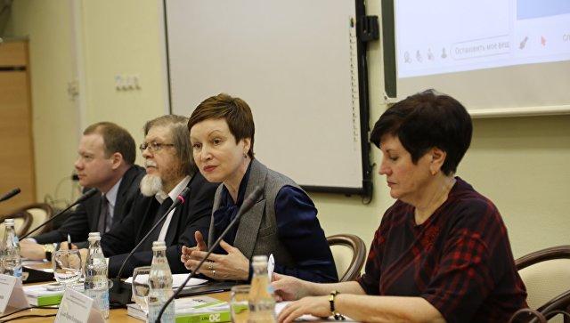 Заместитель министра образования и науки РФ Татьяна Синюгина