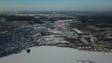 Территория, зарезервированная в Екатеринбурге, под строительство ЭКСПО-парка Всемирной универсальной выставки ЭКСПО-2025