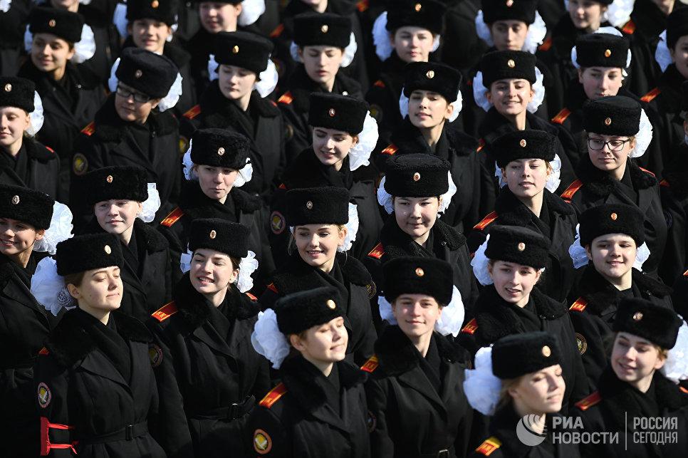 Курсанты смоленской академии ПВО примут участие впараде наКрасной площади