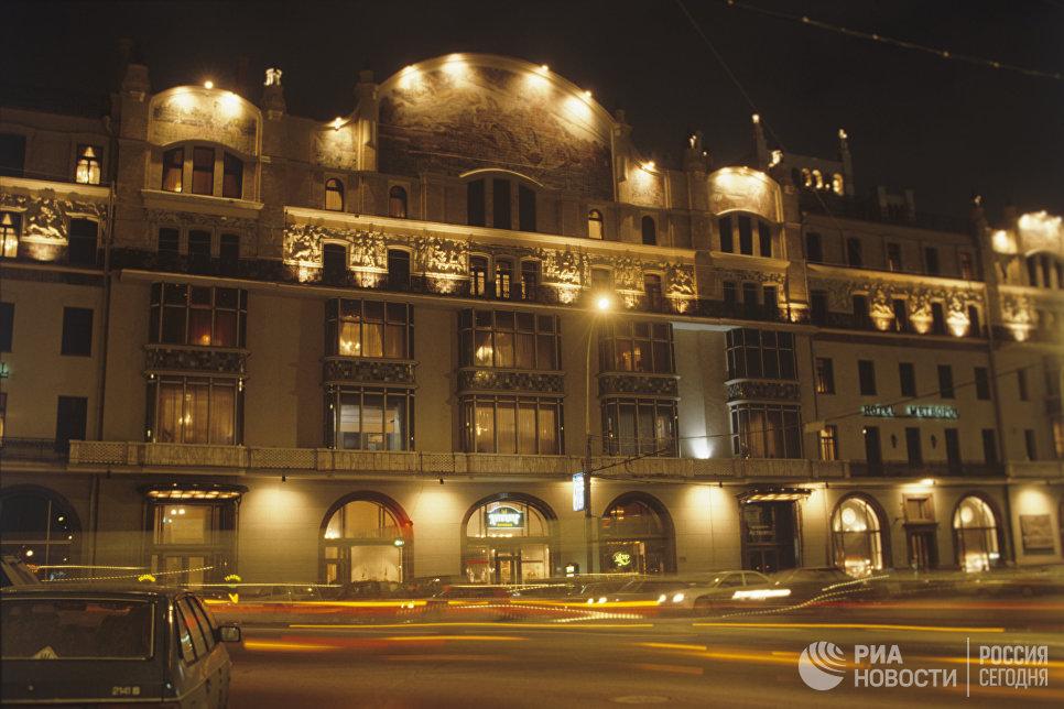 Здание гостиницы Метрополь