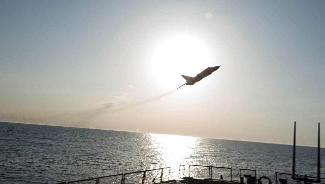 СМИ проинформировали о  сближении военных  самолетовРФ сэсминцем США вСирии
